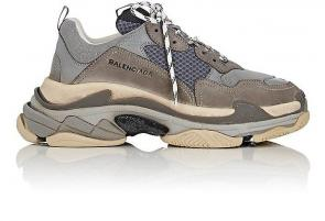 sneakers chaussure de balenciaga mode cool gray